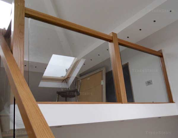 Best Pin By V Sprout S House On Hall And Landing Glass Stairs 400 x 300