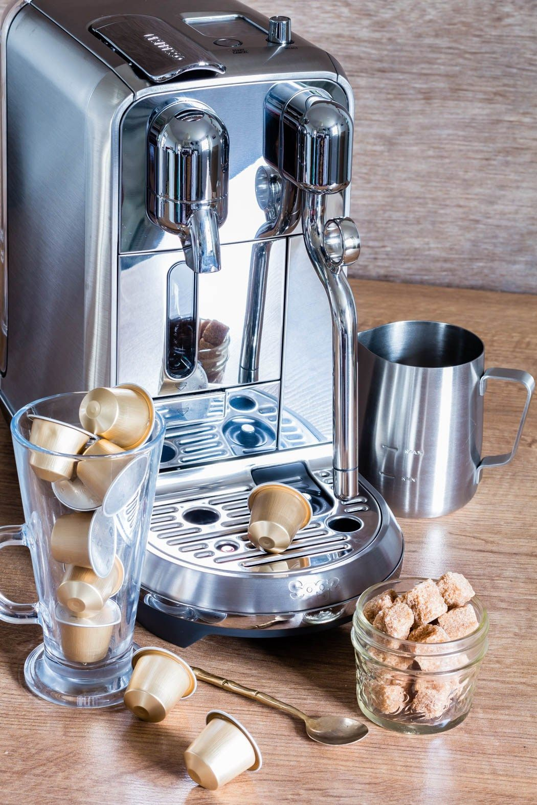 Nespresso sage Creatista Plus review Recipes From A