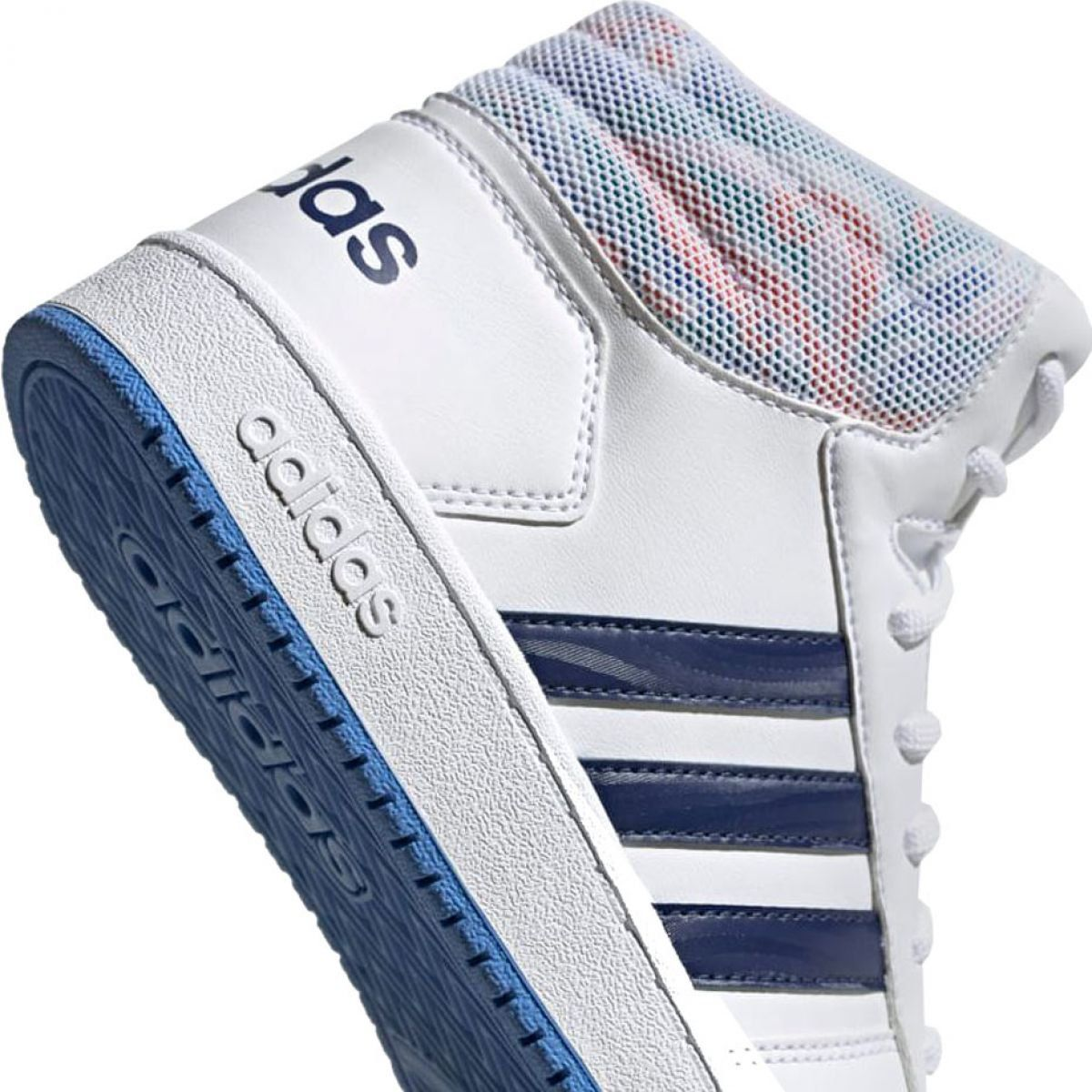Buty Adidas Hoops Mid 2 0 Jr Ee8546 Biale Sports Shoes Adidas Childrens Shoes Kid Shoes