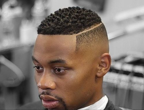 Haircut parts designs for black men