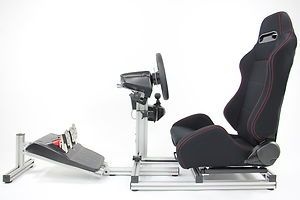 Details about   Seat Driving Simulator Gaming Chair Sim