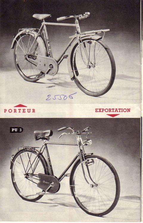 cycles peugeot 1952 brochure 14/18 | bikes -catalogues | pinterest