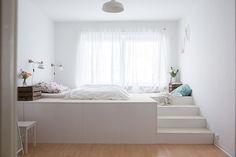 Matratzenlager kinderzimmer  Podest Mit Eingelassenem Bett | daredevz.com