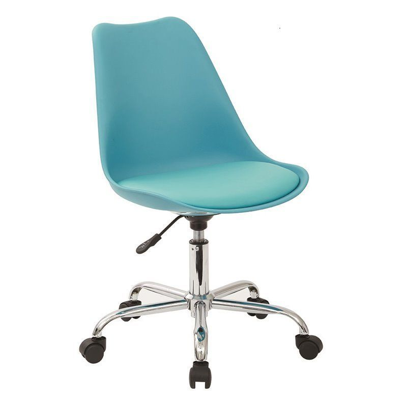 Office Star Ave Six Desk Chair In Teal