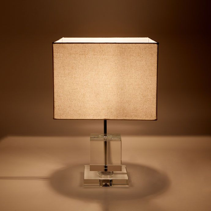 Lamp Met Glazen Voet Lampen Decoratie Zara Home Holland Zara Home Lamp Table Lamp