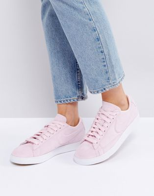 nike sneaker blazer low rosa