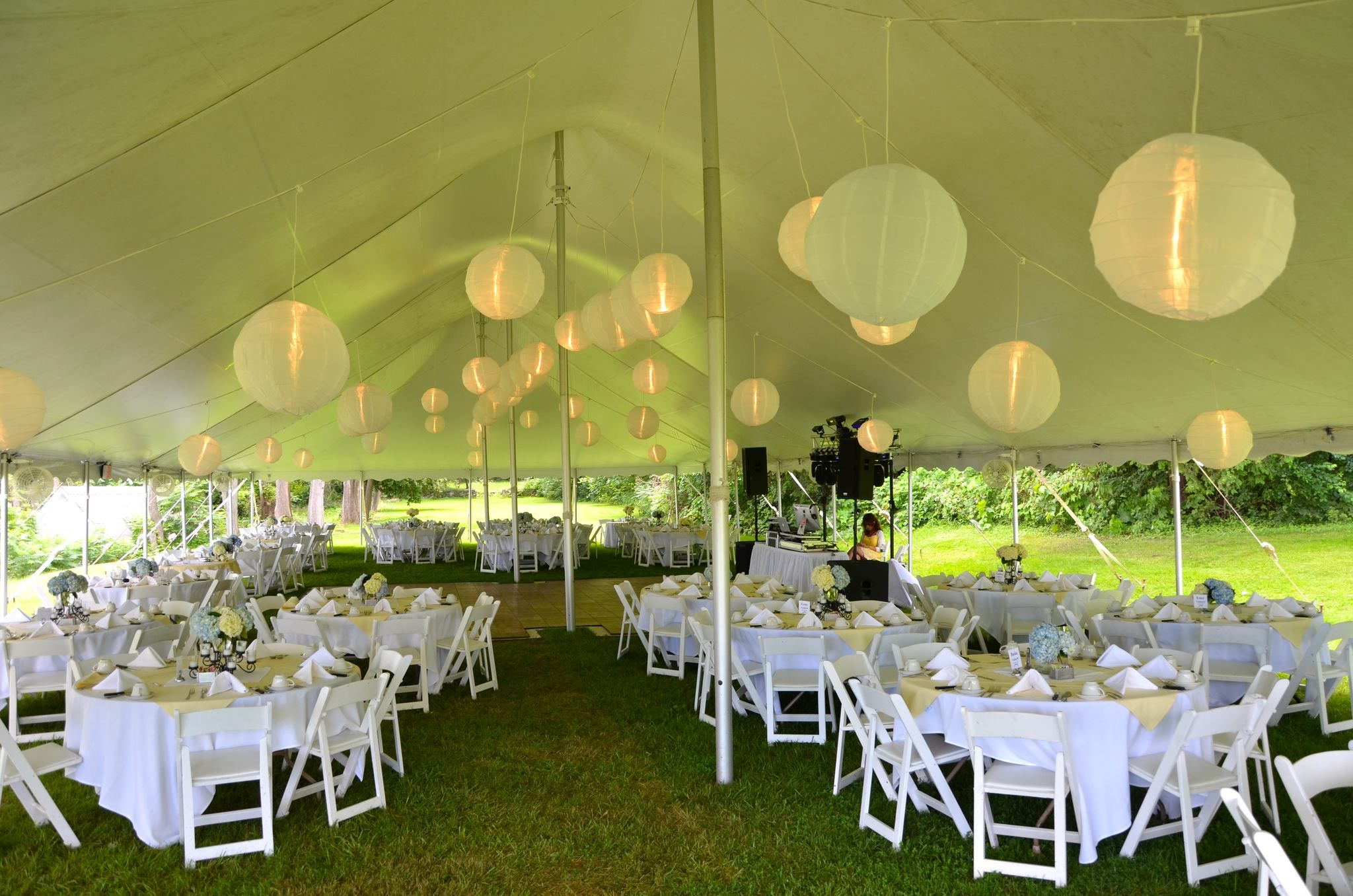 Taylor Rental Party Plus Party Rentals In Plattsburgh Ny Saranac Lake Ny And Equipment Rentals In Plattsbu Tent Lighting Japanese Lanterns Tent Decorations