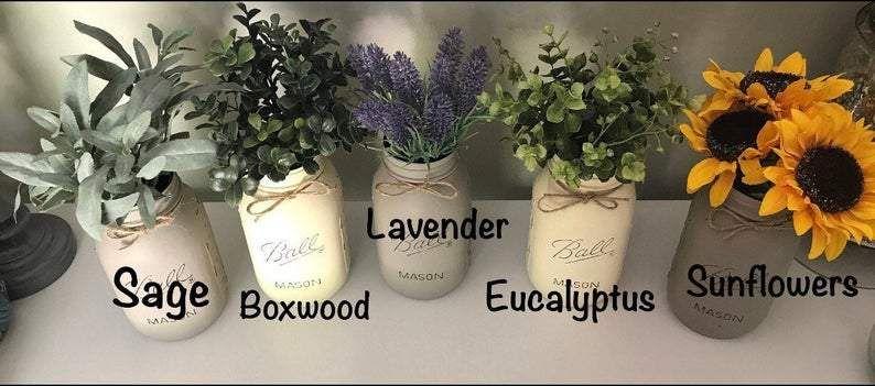 Photo of Plain Toilet Paper Holder Box (Painted Jar/Flowers Optional)