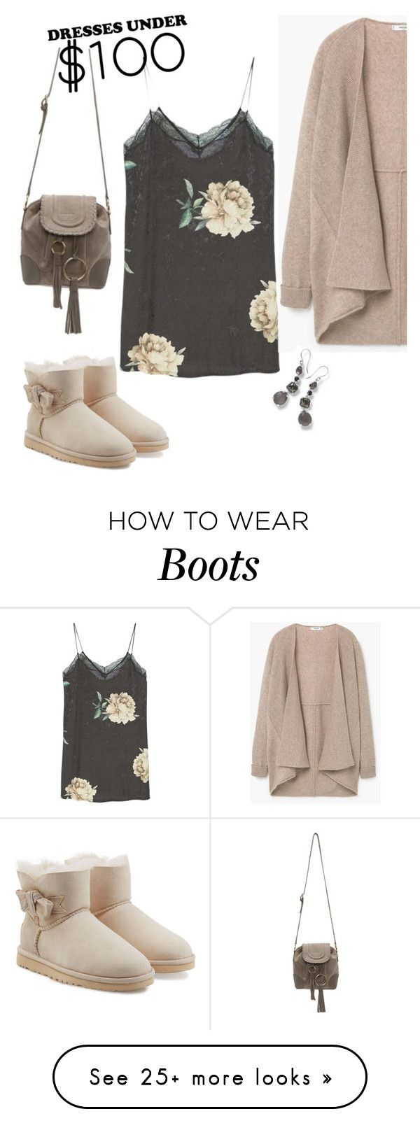 """"""" under 100$"""" by olivia-stones on Polyvore featuring MANGO, UGG Australia, Ippolita, See by Chloé and authentico"""
