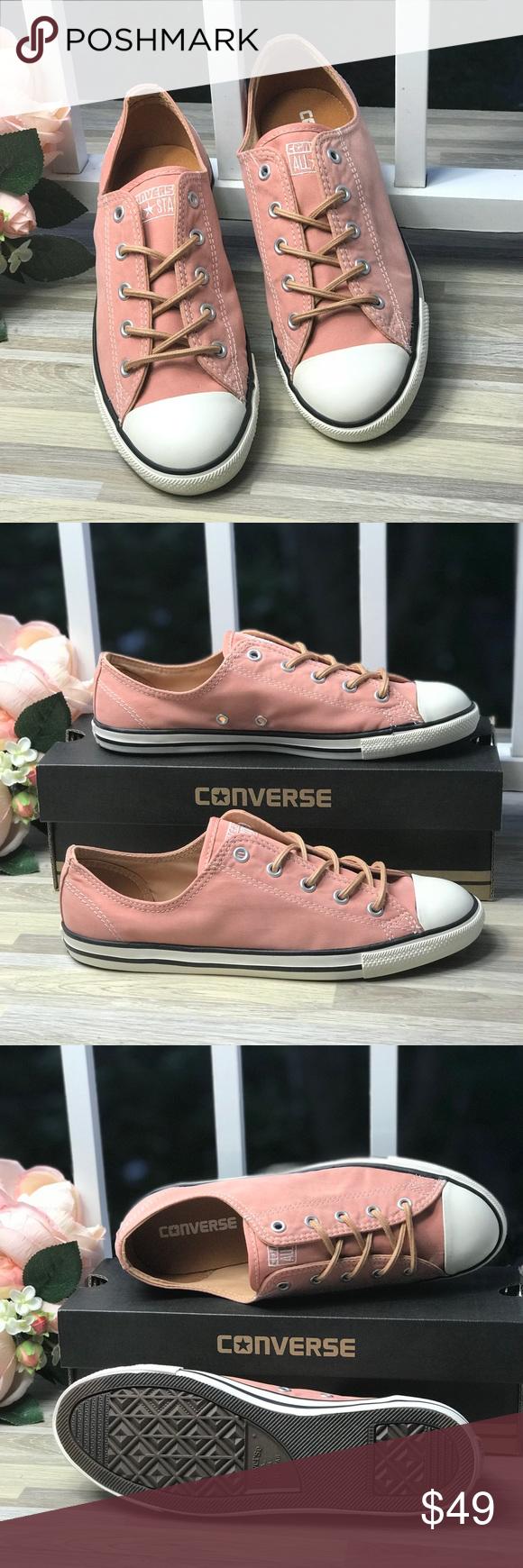 Converse Ctas Denty🍑Peached Canvas OX