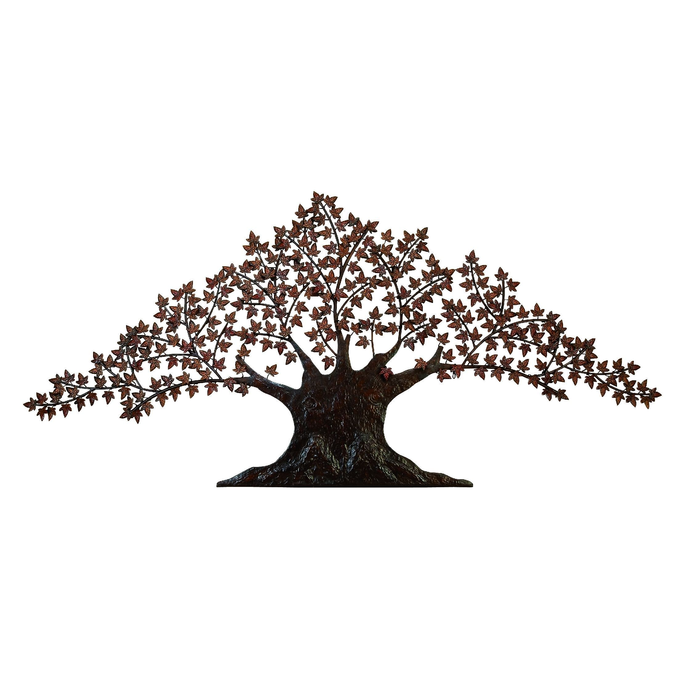 Large Metal Leaf Wall Decor Best Benzara Metal Tree Wall Decor  Metal Trees  Pinterest  Metal Decorating Inspiration
