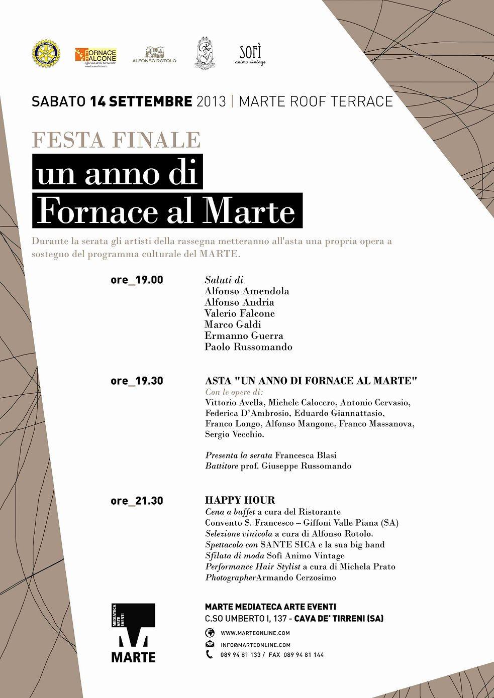 LA FORNACE FALCONE AL MARTE DI CAVA DE' TIRRENI