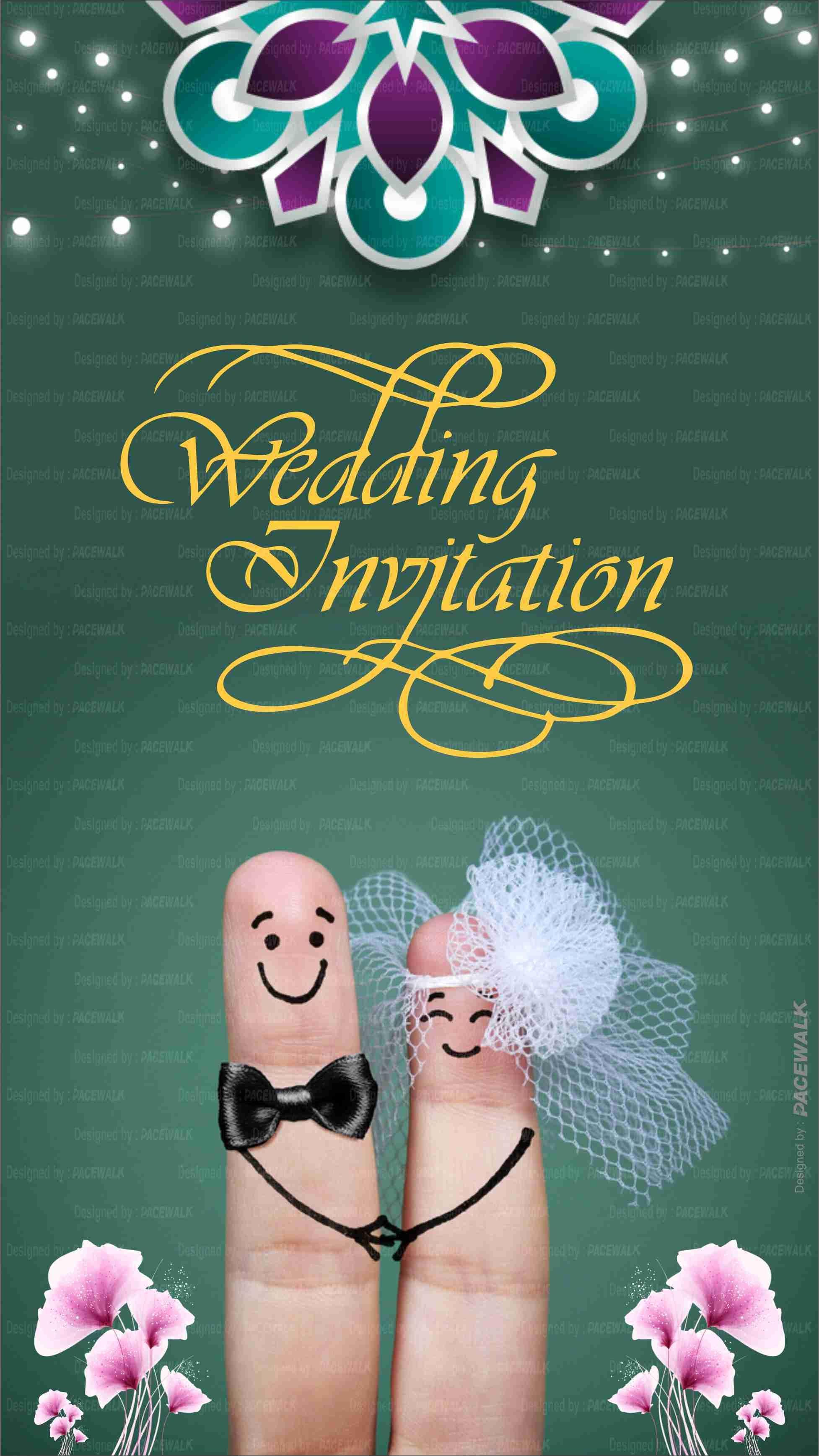 Customized Wedding Invitation Ecards