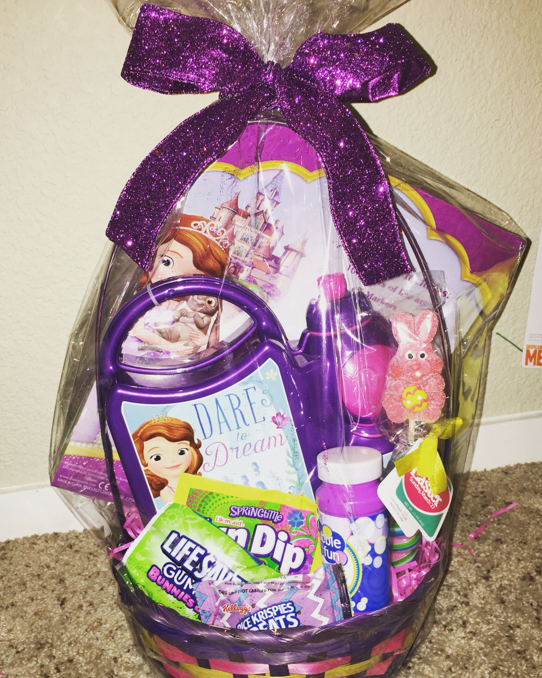Custom princess sophia easter basket follow us on instagram custom princess sophia easter basket follow us on instagram giftsbasketsgalore we ship worldwide negle Images