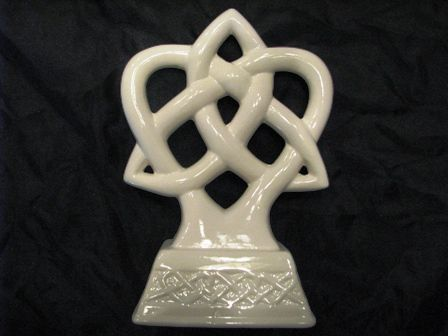 Irish Trinity Knot Wedding Cake Topper