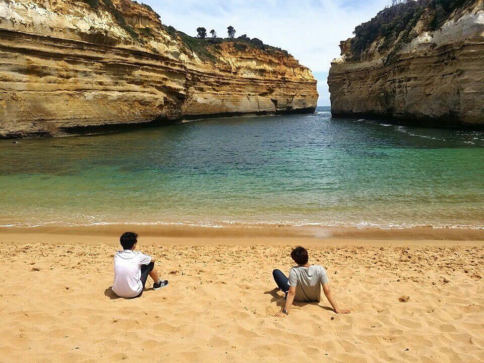 마음이 편안해진다 정말...#여행 #배낭여행 #예쁨 #풍경#바다#해변#beach#melbourne #australia #호주#그레이트오션로드 #greatoceanroad #힐링#자연 by jisoo0829