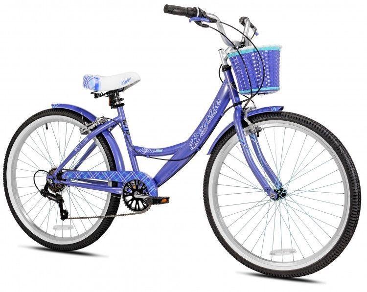 Women S Schwinn 26 Kent Bayside Cruiser Bike Fenders Included Handbrakes New Oversized Customer Step Through Sturdy Steel Fra Cruiser Bike Bike Speed Bicycle