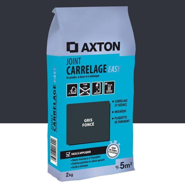 Joint Poudre Axton Easy Gris 2 Kg 5 M En 2020 Joint De