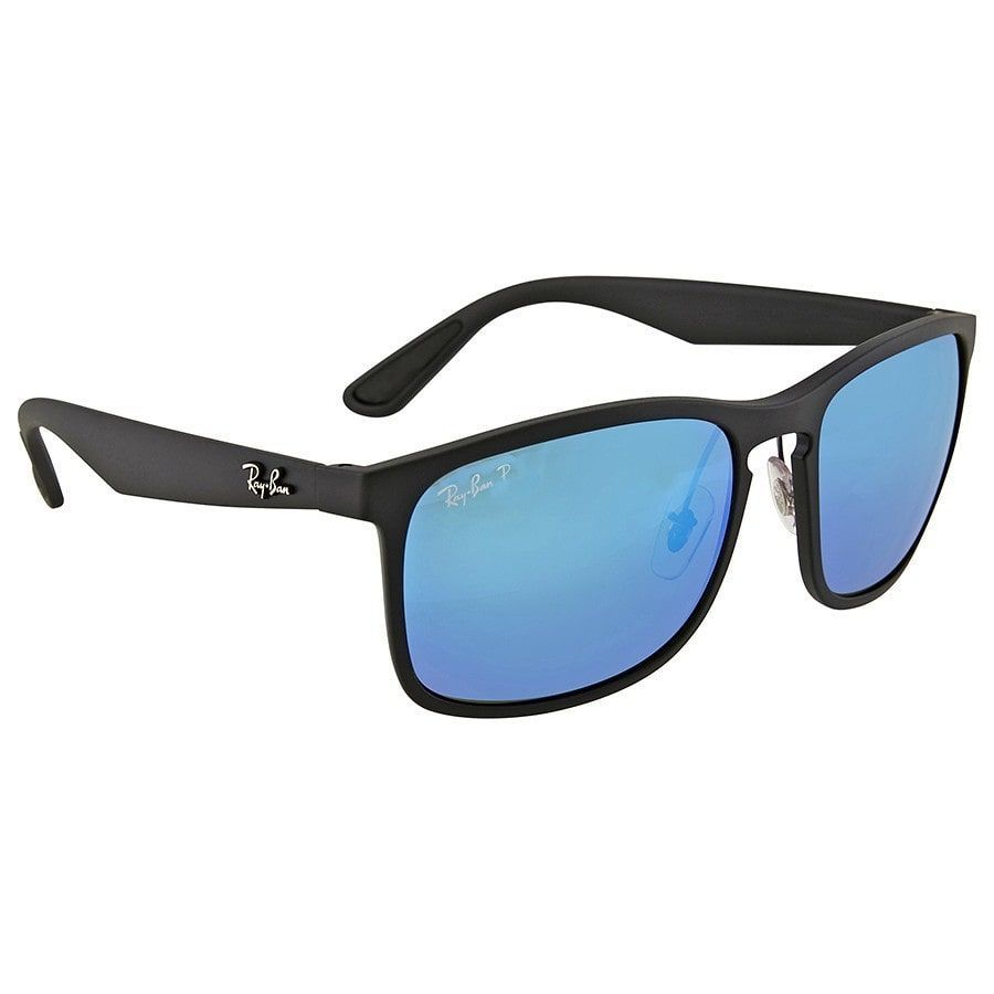 d97656dcbaa Ray Ban RB 4264 601SA1 Men s Polarized Blue Mirror Chromance Sunglasses