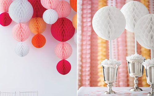Tissue Paper Ball Decorations Party Cheap If You Don't Have A Party Supply Store Near You This