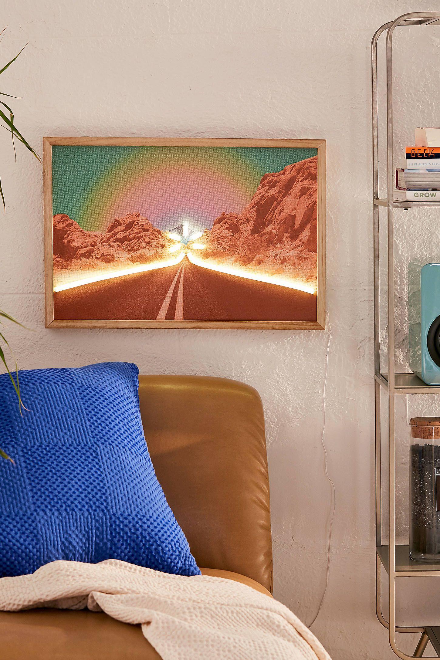 Desert Road Neon Sign   Contemporary home decor ...