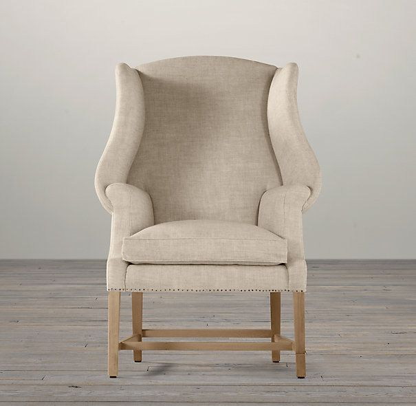 Restoration Hardware Outdoor Wingback Chair