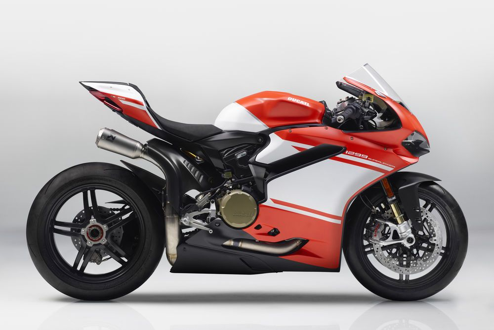 Ducati S 1299 Superleggera Is The Most Powerful Twin Cylinder