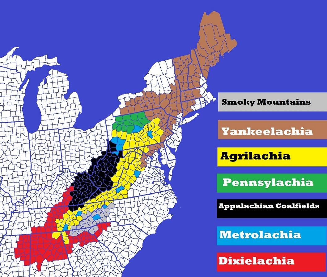 understanding the 7 distinct nations of appalachia appalachian magazine