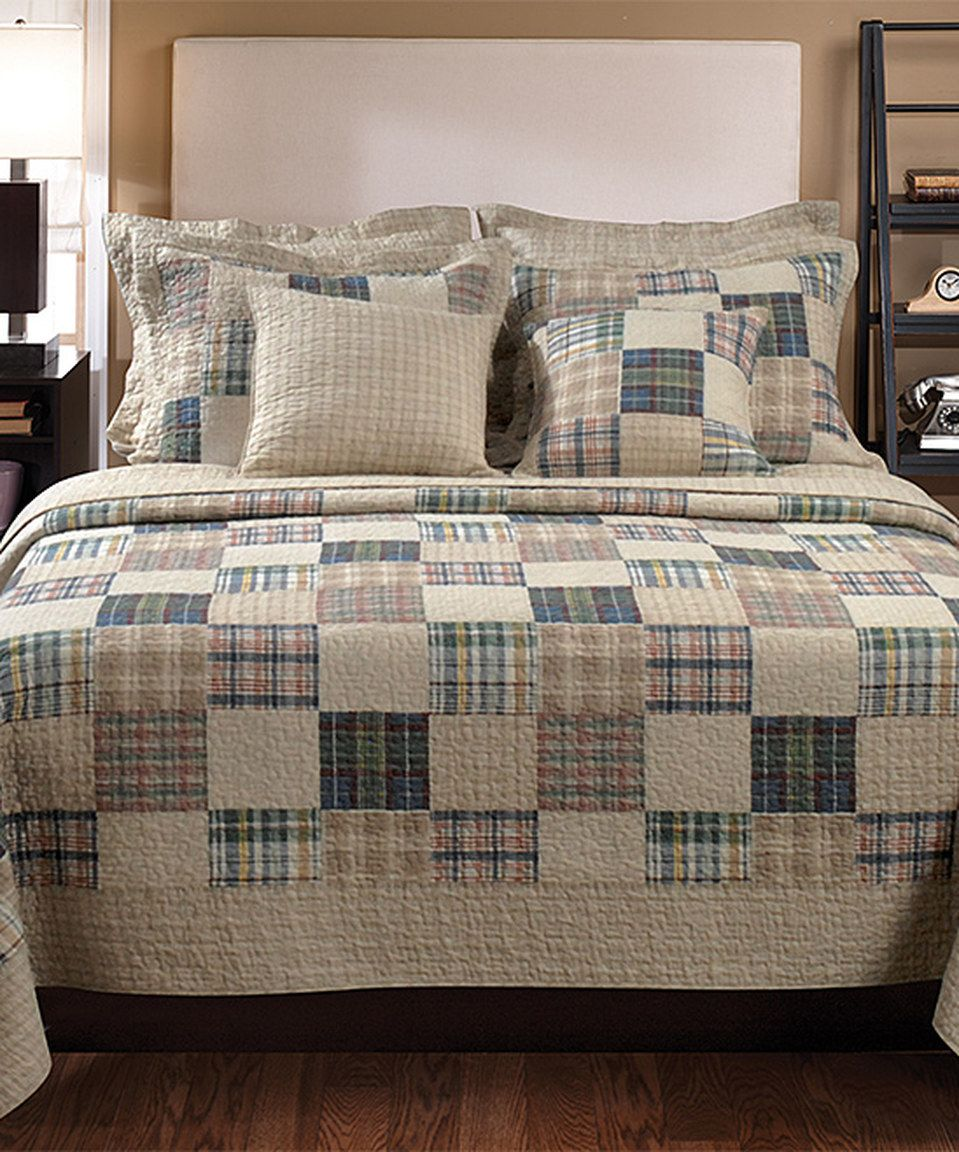 Love This Oberlin Quilt Set By Greenland Home Fashions On