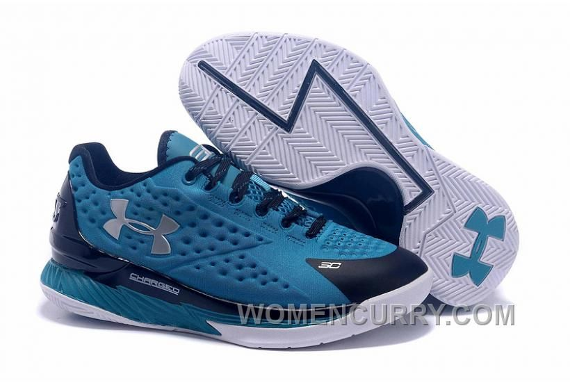 Womens Under Armour Curry One Low Panthers Discount  dbda193e97