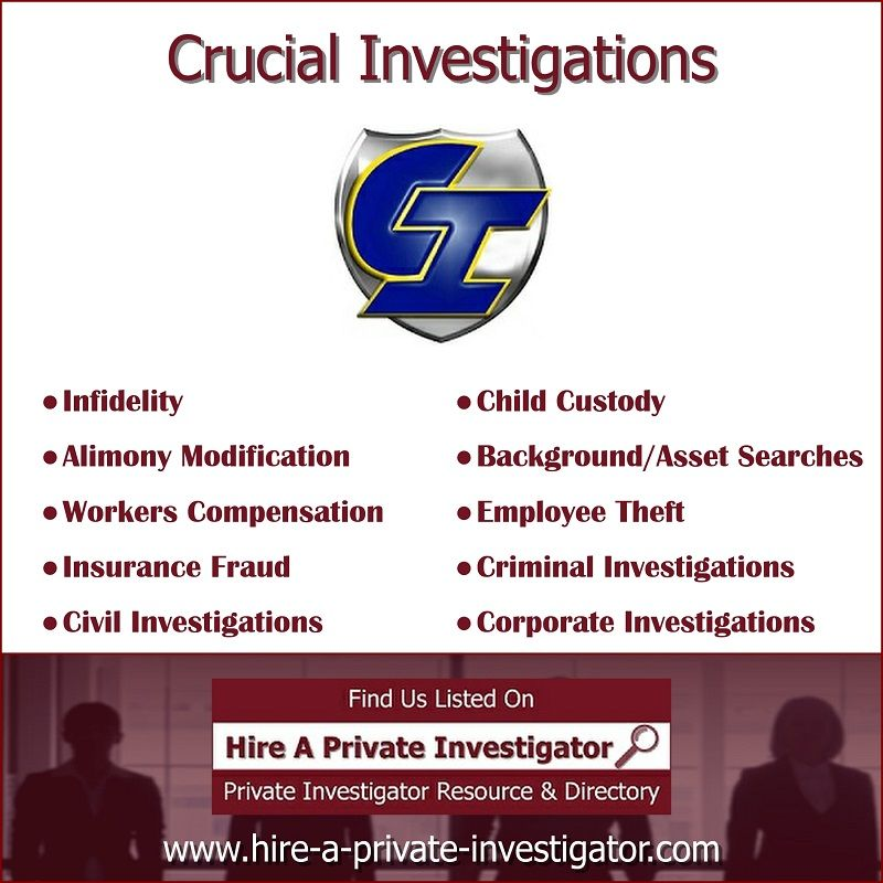 Crucial Investigations Top Private Investigator In Greenville