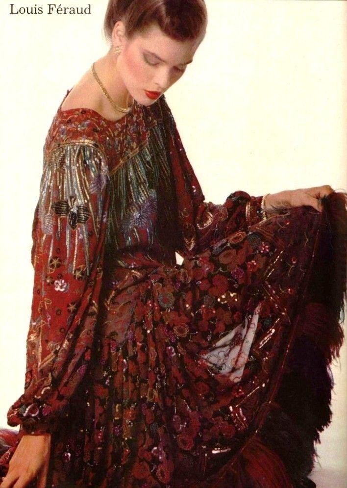 Louis Feraud 1980s | Модные стили, Модели, Фотосессия