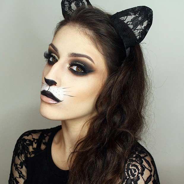 23 Pretty and Easy Halloween Makeup Looks   Halloween make up ...