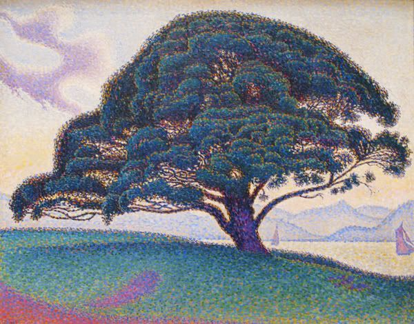 Paul Signac, a Pine-tree, 1893