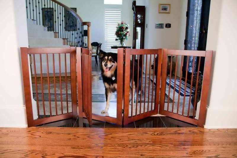 Orvis Dog Gates With Foldable Design Dog Gate For Stairs