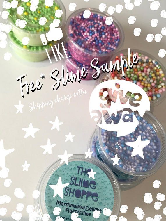 Free* Slime Sample | 2oz | Whipped Butter Slime | Floam