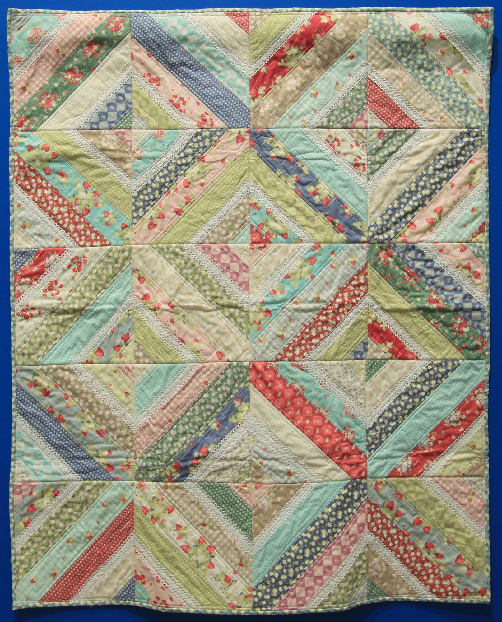 """Child's Quilt 4, """"Precious Baby Girl"""" by Mary Whelan """"My ..."""
