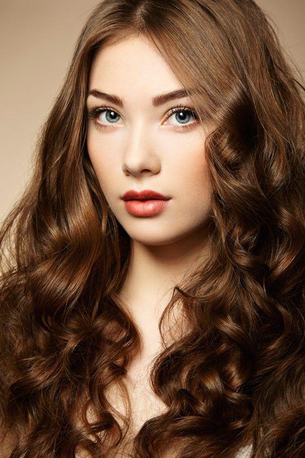 Mittelbraune Haare Unique Braune Haare Mit Locken Bilder