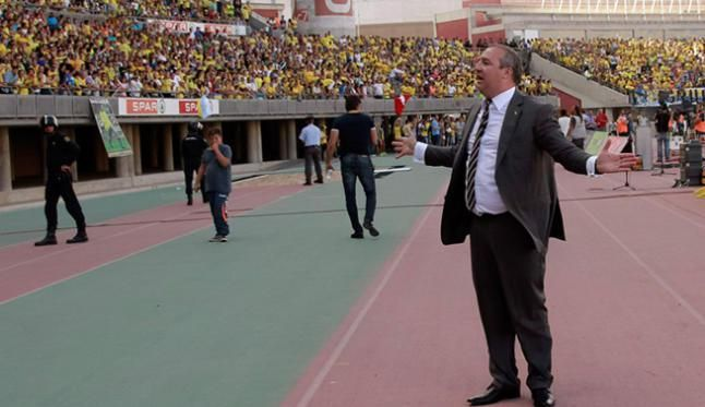 Miguel Ángel Ramirez, presidente UD Las Palmas, acusado de incitar a la violencia / Foto: EFE