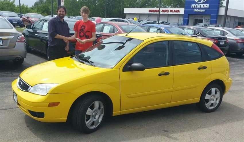 Justin S New 2007 Ford Focus Congratulations And Best Wishes From