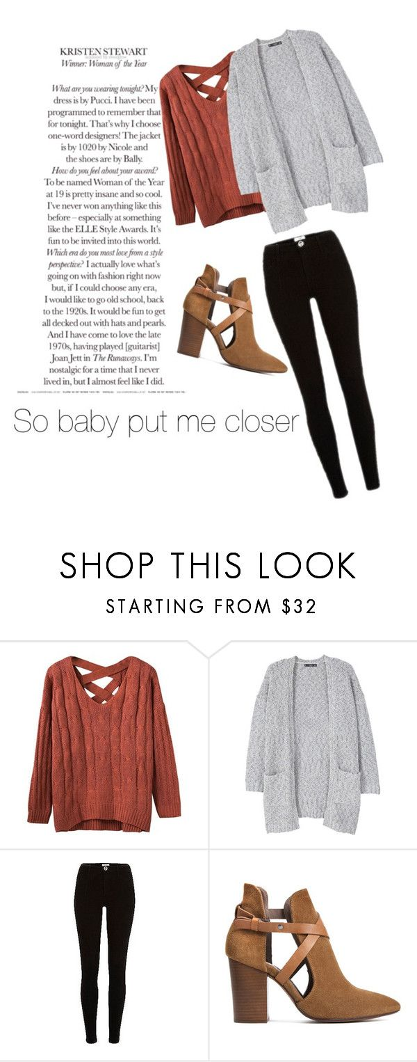"""""""Yeah..."""" by aly-staicu ❤ liked on Polyvore featuring MANGO and H London"""