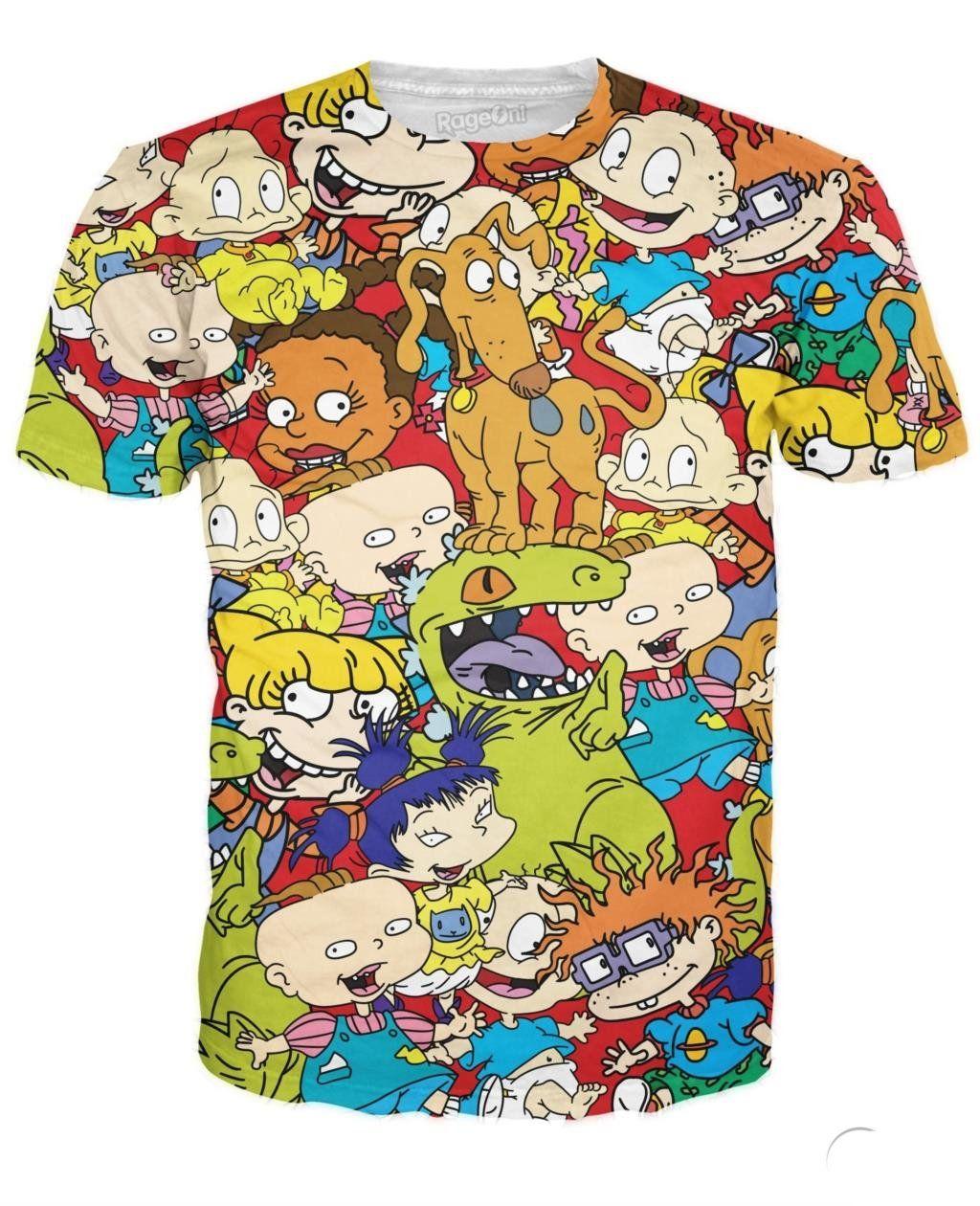 f6105663ba Rugrats 3D Print T-Shirt – Tomscloth