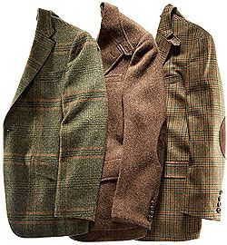 Spend thousands of dollars, or several at the thrift store. My best tweed is from thrifting