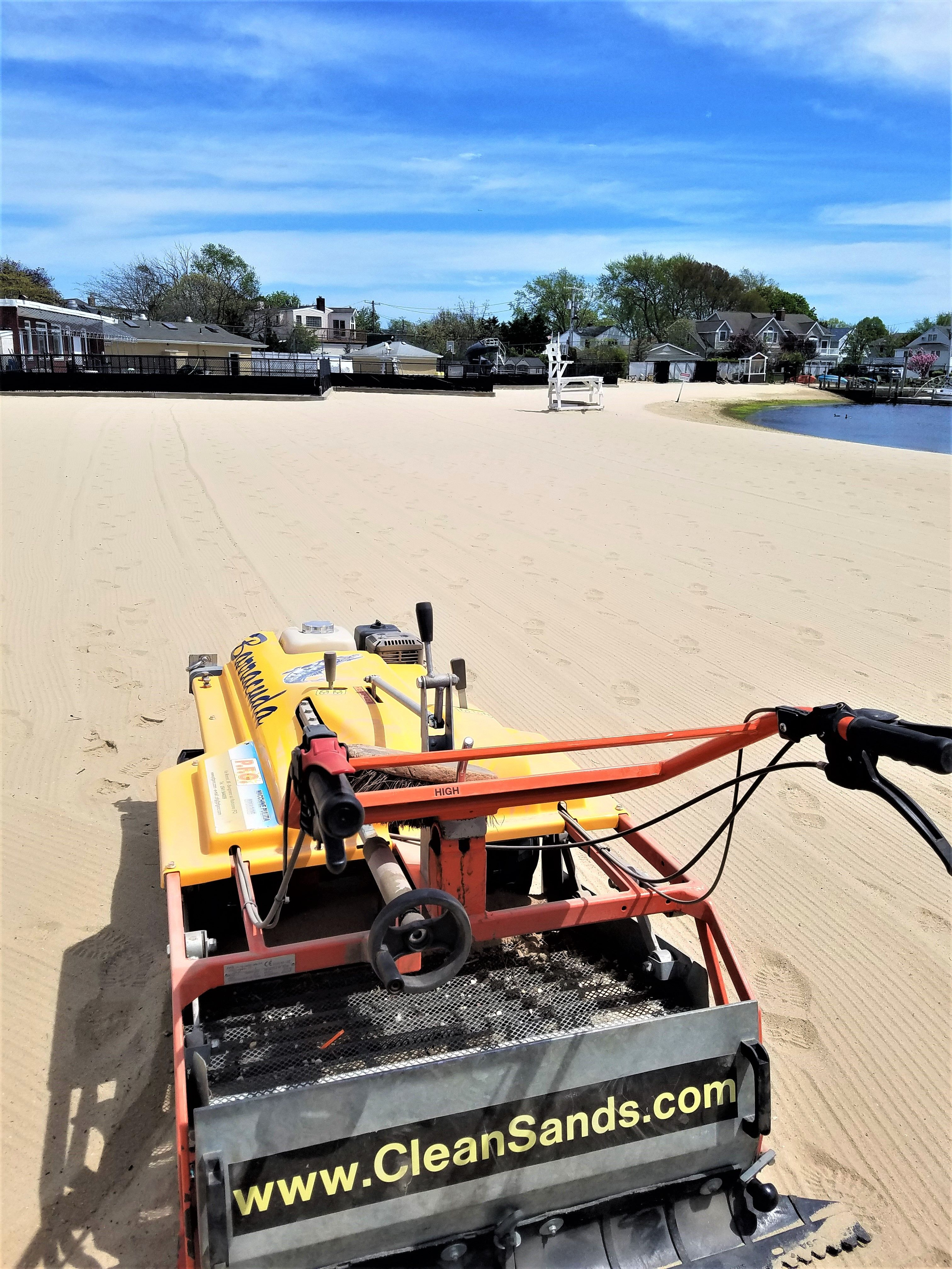 Beach Cleaning Equipment Beach Cleaning Machines Clean Sands Clean Beach Beach Cleaning Equipment
