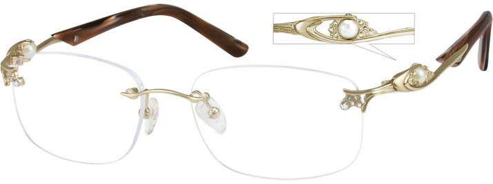 2690c4a124 Rimless Glasses for Women - Rimless Eyeglass Frames