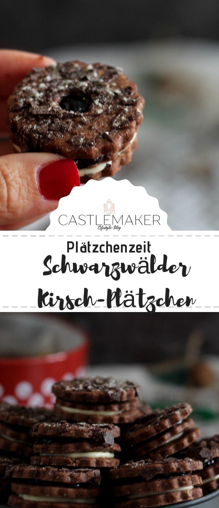Schwarzwälder-Kirsch-Plätzchen #schnelletortenrezepte