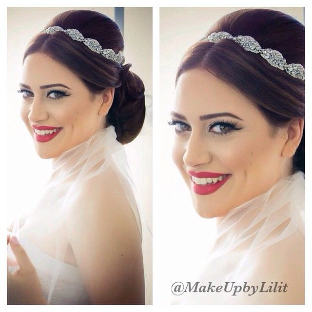 What a dreamy bride and a beautiful pic! Thank you @samkphoto for the image. #makeupbylilit #Padgram