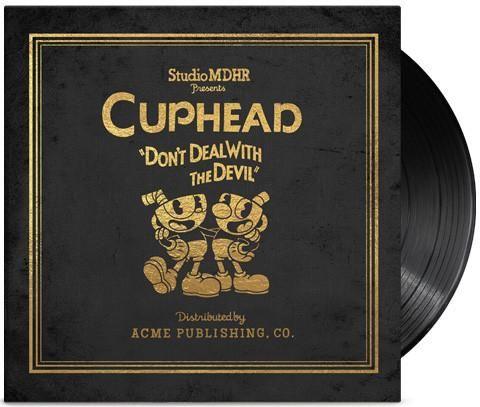 Cuphead 4xlp Deluxe Vinyl Soundtrack Soundtrack Bendy The Ink Machine Studio Mdhr