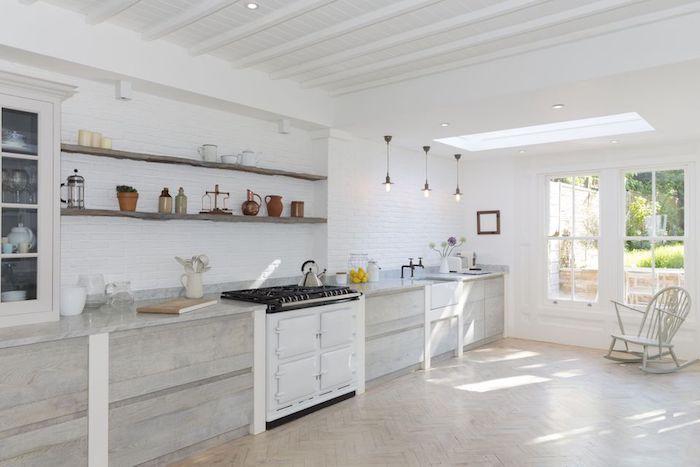 ▷ 1001 + idées pour aménager une cuisine campagne chic charmante