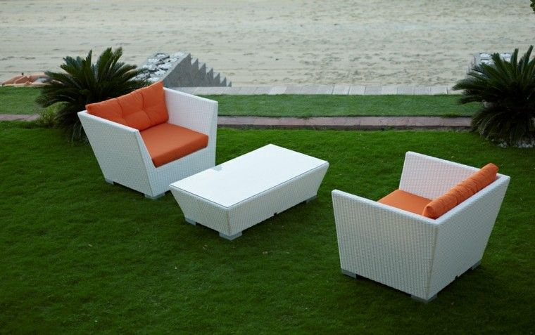 Cojines muebles jardin stunning conjunto jardn modelo - Cojines exterior carrefour ...